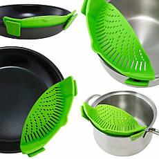 Кухонный силиконовый дуршлаг Better Strainer № B49, фото 3