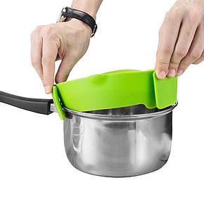Кухонный силиконовый дуршлаг Better Strainer № B49, фото 2