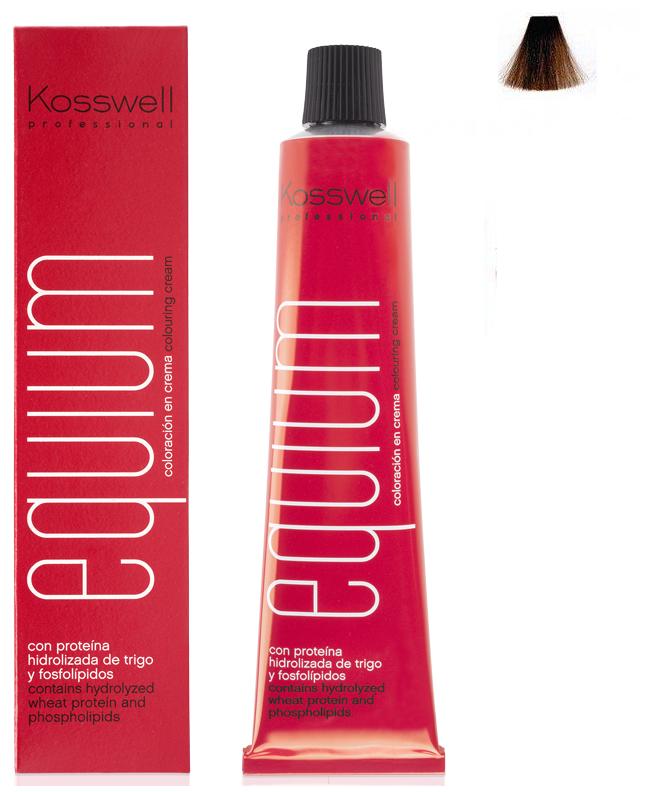 Професійна окислювальна фарба Kosswell Professional Equium 8.33 Deep Light Golden Blonde, 60 мл, фото 2