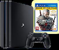 PlayStation 4 Slim 1TB+ Ведьмак, фото 1