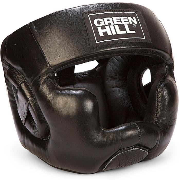 Шлем боксерский ''SUPER'' Green Hill