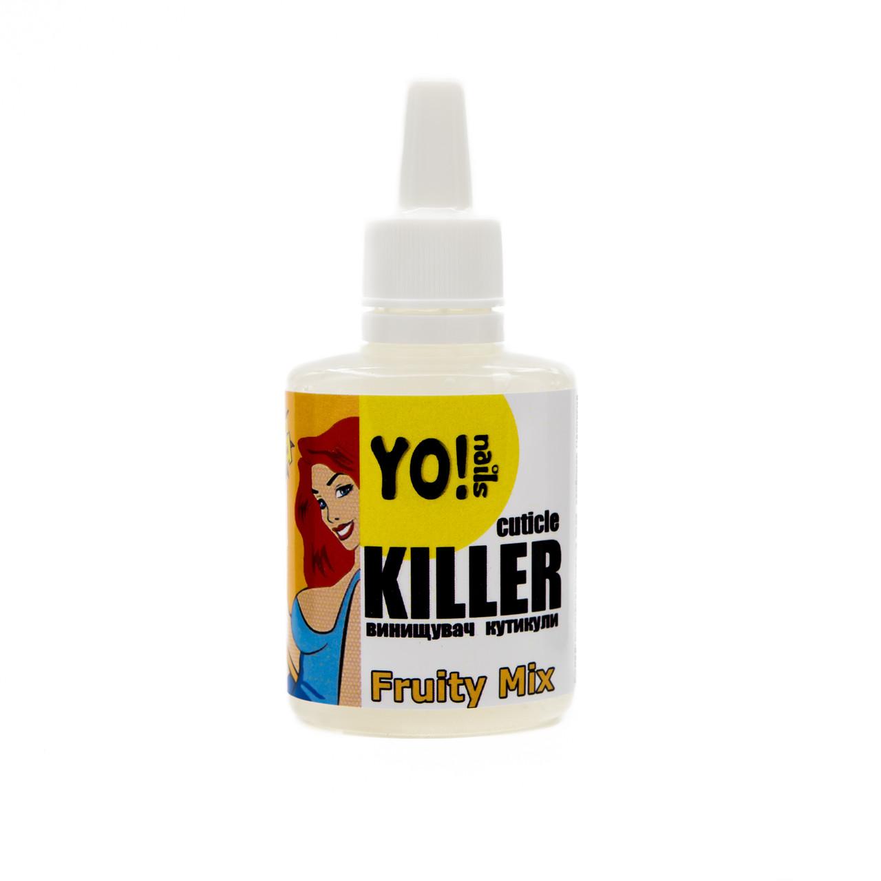 Ремувер для кутикулы,Yo!nails CUTICLE KILLER Fruity Mix