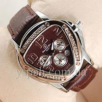 Женские Часы Diamond Dior Silver/Brown