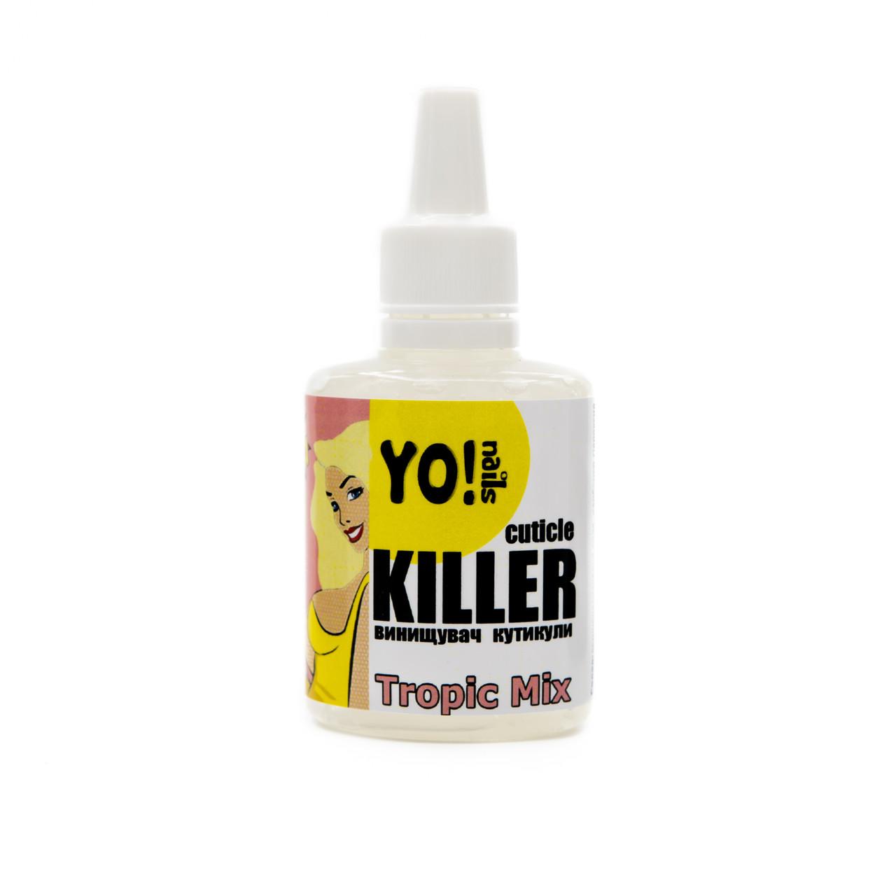 Ремувер для кутикулы,Yo!nails CUTICLE KILLER Tropic Mix