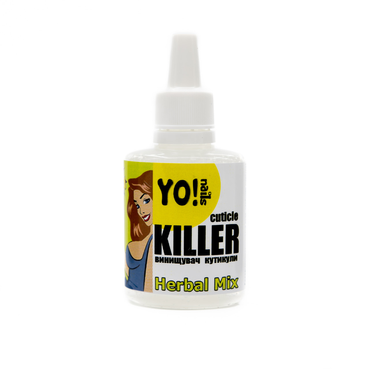 Ремувер для кутикулы, Yo!nails CUTICLE KILLER Herbal Mix