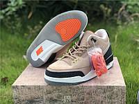"""Кроссовки Nike Air Jordan 3 JTH """"Bio Beige"""", фото 1"""