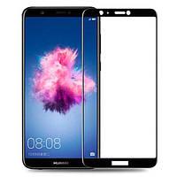 Защитное стекло AVG для Huawei P Smart 2018 полноэкранное черное
