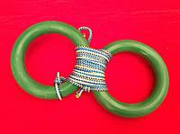 Кольца гимнастические детские (пластик)
