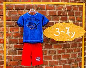 Детская футболка для мальчика iDO Италия 4.Q817 Синий