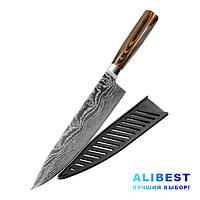 Кухонный нож поварской - шеф нож. Япония Akatsuki