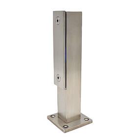ODF-02-06-01-H250 Стойка для стекла из нержавейки с прижимной пластиной