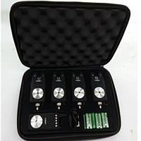 Акция! Набор сигнализаторов в кейсе (с пейджером) 4+1 Stenson(SF23799) [Товар продаётся по акционной цене!]
