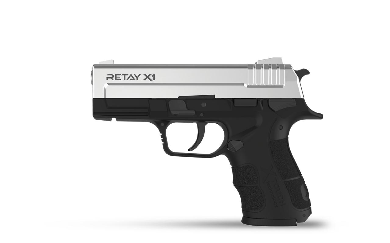 Пистолет стартовый Retay X1. Цвет - Chrome
