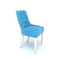 Стул Nuvolari Тиффани, белый/ голубой. 560*560*900Н, фото 1