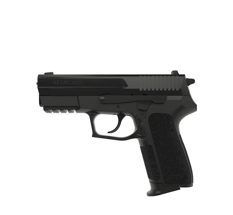 Пистолет стартовый Retay 2022. Цвет - black   Y530100B