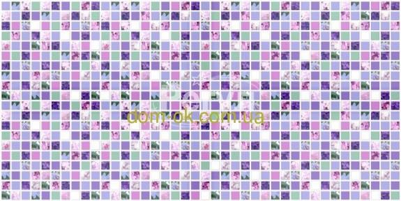 Декоративная панель Регул Мозаика «Сирень» 166 мс
