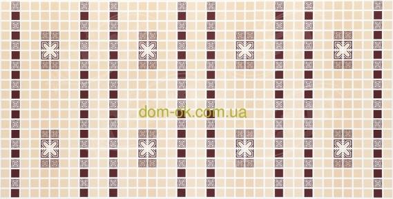 Декоративная панель Регул Мозаика «Орнамент бордовый» 22 б