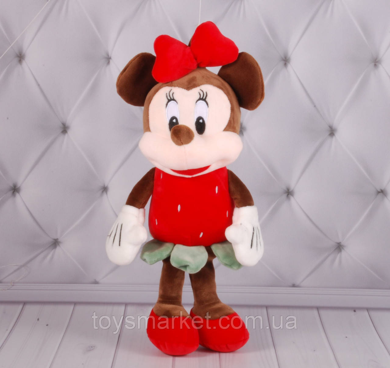 """Мягкая игрушка Минни Маус """"Фрукты"""", Mickey Mouse, Minnie Mouse, плюшевая Минни Маус,  разные цвета, 20 см"""