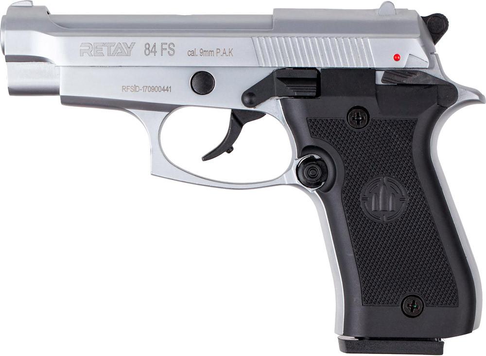 Пистолет стартовый Retay 84FS. Цвет - Chrome P630300C