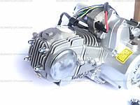 Двигатель(мотор) Delta-125 кубов, Alfa-lux, полуавтомат