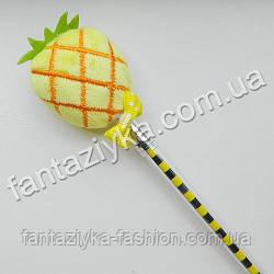 Мягкая плюшевая гелевая ручка ананас
