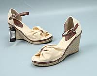 Модные женские босоножки на тонкетке Очаровательный милый вид Аккуратные удобные Отличный вариант Код: КГ9050