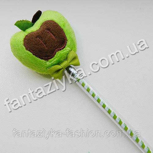 Мягкая плюшевая гелевая ручка яблоко