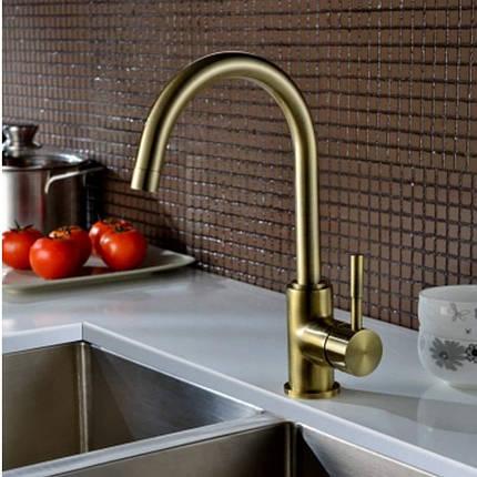 Кухонный смеситель BLUE WATER COLORADO - Старое золото, фото 2