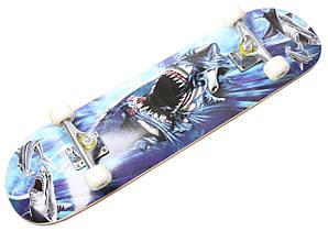 "Скейт ""Cool Shark"" Гарантия качества Быстрая доставка"