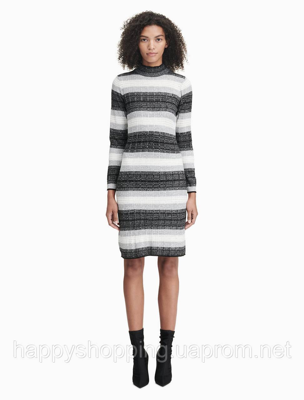 Женское платье в полоску Calvin Klein