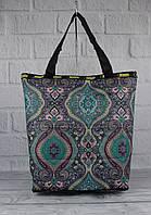 Сумка-шоппер-трансформер LeSportsac 9801-15 восточный узор, текстильная, фото 1