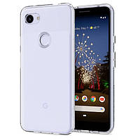 Чехол Spigen для Google Pixel 3a Liquid Crystal, Crystal Clear (F23CS25961)