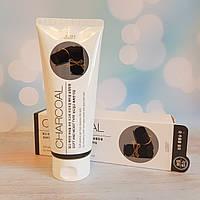 Пилинг-скатка с углем Jigott Charcoal Premium Facial Peeling Gel 180 мл