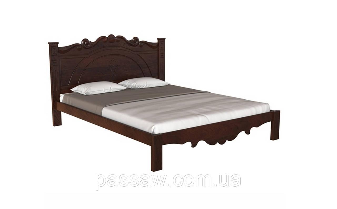 Кровать деревянная  Л-224 1,6