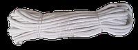 Шнур плетений бавовняний 8,0 мм * 20 м