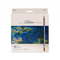 Набор цветных карандашей Marco Raffine 48 цветов картон