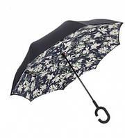 Зонт навпаки Up Brella Квітковий принт