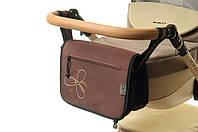 Сумка на коляску Ok Style Цветок Коричневый