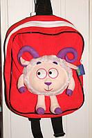Рюкзак детский Смешарики красный арт 6912.