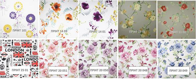Коллекция ПРИНТ 10 цветов