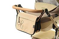 Сумка на коляску Ok Style Цветок Светло бежевый, фото 1