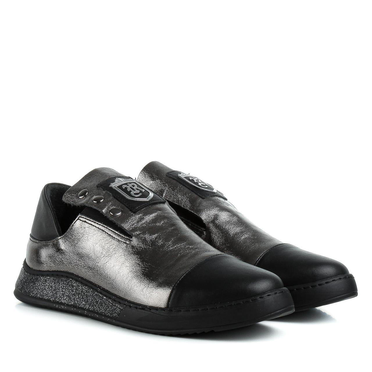 Туфли женские EVROMODA (натуральные, удобные, модные сочетания цветов)