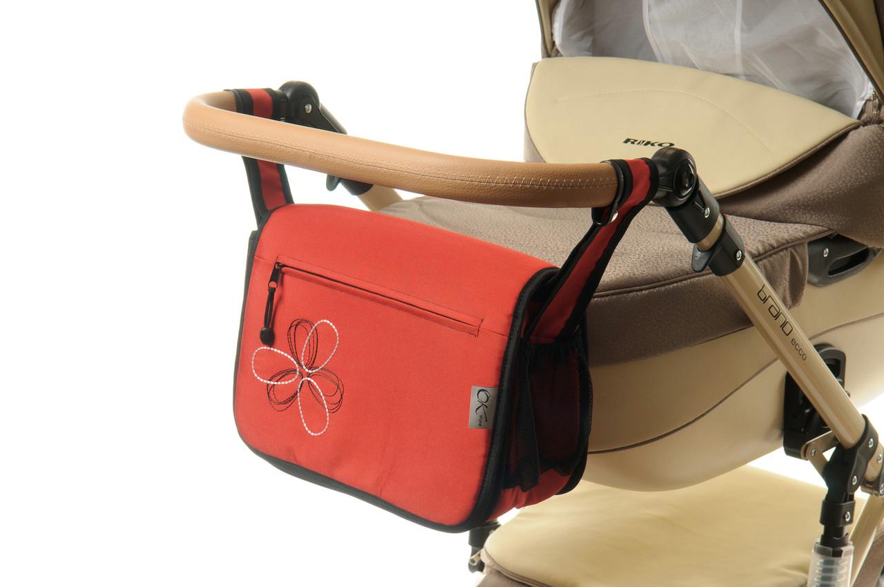 Сумка на коляску Ok Style Цветок Красный
