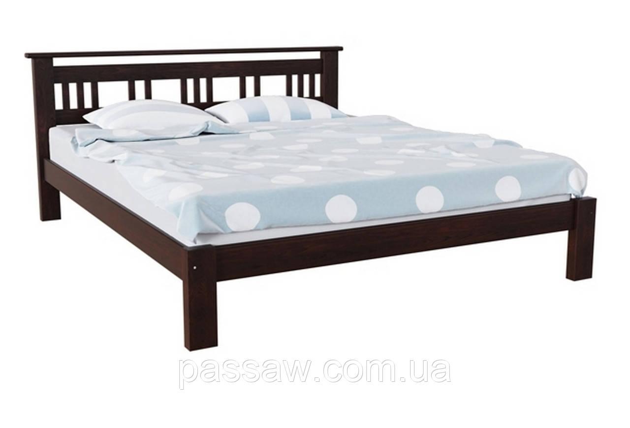 Кровать деревянная Л-227 1,8