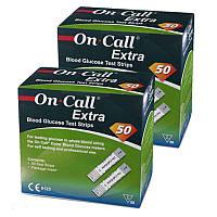 Тест-полоски On Call Extra №50 - 2 уп. (100 шт.)