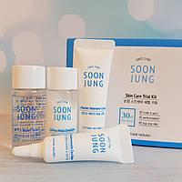 Набор миниатюр для чувствительной кожи ETUDE HOUSE Soonjung Skin Care Trial Kit