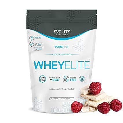 Протеин Evolite Nutrition WheyElite  900g (White Chocolate Raspberry)