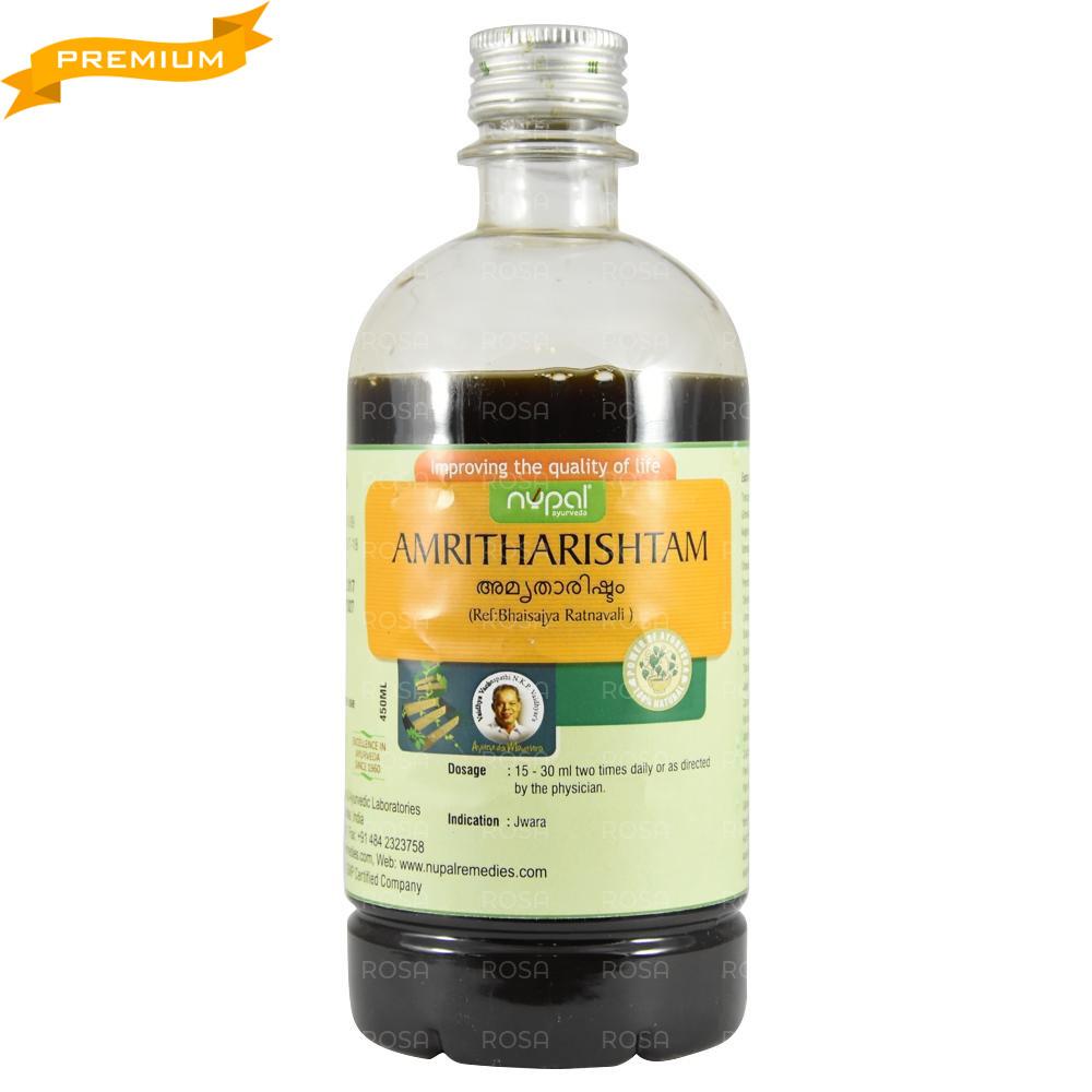 Амрита Ришта (Nupal, Amritharishtam), 450 мл - устраняет воспаления, Аюрведа Премиум