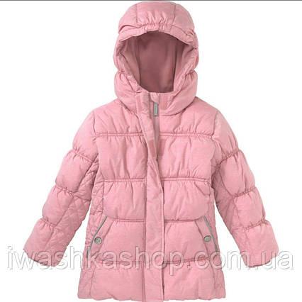 Теплая куртка на холодный демисезон на девочек 3 - 4 лет, р. 104, Topolino