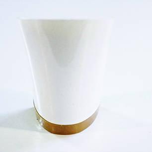 Каблук женский пластиковый 605 белий р.1,3  h-5.0 , 5.6 см., фото 2